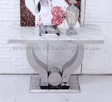 2016枚のミラーのステンレス鋼フレームの大理石の上のコンソールテーブル