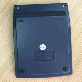12 dígitos se doblan las calculadoras de la oficina de la potencia con la cubierta de aluminio (CA1206A)