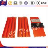 Sistema de distribución de alimentación de energía del riel flexible sin fisuras