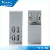 4 Порты USB стены быстрое зарядное устройство с британскими нас Au ЕС Pin
