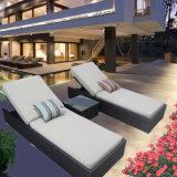 Muebles del patio de aluminio al aire libre salón con mesa lateral