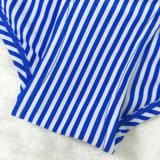 Qualtiy 도매 높은 형식 줄무늬 여자의 내복