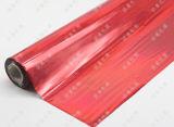 Feuillet d'estampillage rougeâtre holographique