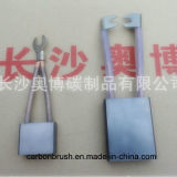 balai de charbon fournisseur de graphite en métal pour les moteurs cosightseeing de C.C d'excursion