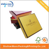 Caixa de papel do logotipo feito sob encomenda da impressão (QYZ311)
