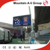 Écran polychrome extérieur d'affichage à LED d'IMMERSION de la vente directe P10