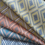 Tela teñida hilado tejida lecho del sofá de la materia textil del hogar de la tapicería del poliester