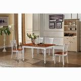 Cadeira de jantar de madeira moderna para o café (HW-611C)