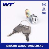 Serratura in lega di zinco della camma di chiave della m/c di vendita calda di alta qualità di Wangtong mini