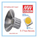 indicatore luminoso di 100W LED Highbay con il driver dell'UL Meanwell del Ce