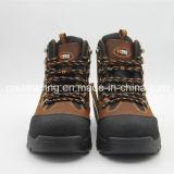 Chaussures de sûreté fonctionnantes légères de cuir véritable d'ingénierie