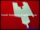 Fornecedor opaco do tubo de vidro de quartzo do silicone da pureza elevada