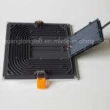 Cuadrado ligero de la lámpara del techo del panel LED de la fábrica 16W LED de China