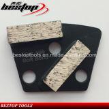 Ferramenta de moedura do diamante para o assoalho do concreto/granito/mármore/terraço que mmói e que lustra
