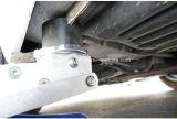 油圧ジャックのためのユニバーサルVスロット大きいジャックのポイント・ガードの反くねりのゴムパッド