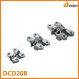 Dobradiças invisíveis de alta qualidade em conector de aço inoxidável