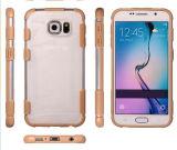 Caso de parachoques suave del marco de TPU para Samsung S6edge