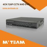 híbrido multilingue DVR del CCTV DVR de 4CH 720p P2p