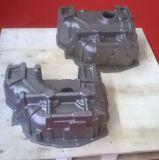 Отливка песка, часть отливки, отливка утюга, картер коробки передач
