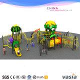 Campo de jogos de escalada ao ar livre da aptidão das crianças para o campo de jogos do tema da fruta