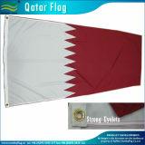 Gesponnene Polyester-Qatar-Staatsflagge (M-NF05F09070)