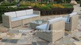 현대 고리 버들 세공 정원 안뜰 등나무 옥외 가구