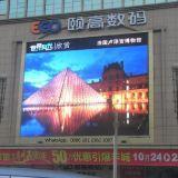 El panel de visualización a todo color de LED de la publicidad al aire libre P6