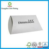 Reciclar el rectángulo de papel de encargo de la almohadilla para el empaquetado del regalo