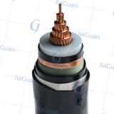 8.7/15kv Copper Conductor Copper Wire XLPE Insulated Electric Cable