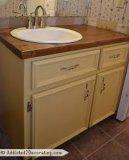 Keukenkast, de Deur van het Kabinet van de Badkamers met Superieure Kwaliteit