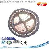 cavo elettrico Unarmoured del PVC di multi memorie 600/1000V