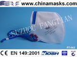 Masque protecteur jetable de qualité de masque de poussière de sûreté avec du CE