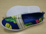 Zapatos de lona planos de la inyección de los zapatos del ocio de las mujeres que se divierten los zapatos