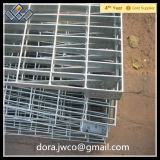 Grating galvanizado do aço da fábrica material de aço Grating profissional direto
