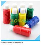 6*80ml niet Giftige AcrylVerf in Plastic Fles voor de Student van de Kunstenaar