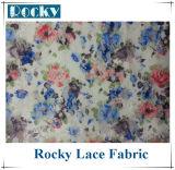 Accessoires en nylon estampés d'habillement de tissu de lacet pour des vêtements