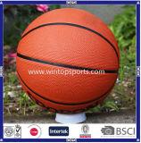 Gummibasketball mit kundenspezifischem Logo&Color