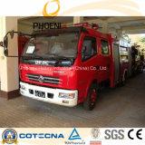 Carro 4X2 de la lucha contra el fuego del tanque de agua de Dongfeng