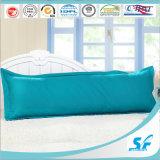 L'oca di lusso del cuscino del corpo del reticolo del cotone giù sostiene il cuscino