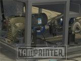 Печатная машина экрана рукоятки Ce Tmp-70100-B вкосую для сбывания