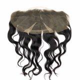 Волосы объемной волны волос Remy бразильской девственницы шнурка прифронтовой людские