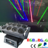 Red Green Blue Beam Laser araña de luces Jefe