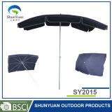 2m*1.5m亜鉛合金のTitlの長方形の傘(SY2015)