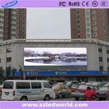 Anunciando o vídeo ao ar livre da tela de indicador do diodo emissor de luz da cor cheia da ventilação que anuncia (P6, P8, P10, P16)