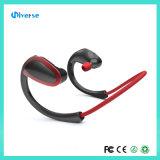 Receptor de cabeza estéreo invisible de la tirilla de la camisa del auricular sin hilos de Bluetooth V4.1 con el Mic