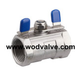 CE 1PC Stainless Steel Ball Valve 2