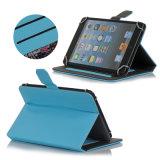 Caisse en cuir de tablette de mode de vente directe pour le cas d'iPad avec le logo fait sur commande