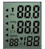 Bildschirmanzeige-Baugruppen-Panel-Bildschirm Tn-einfarbiger LCD