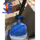 DIN/API Nut-Form-Stahl/Wcb geschweißtes Öl-Drosselventil