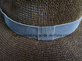 Papel del 100% con los sombreros del safari del estilo del ocio del color de Brown